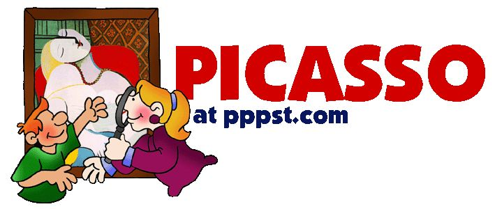 Picasso - Artists - FREE Presentations in PowerPoint format, Free Interactives and Games