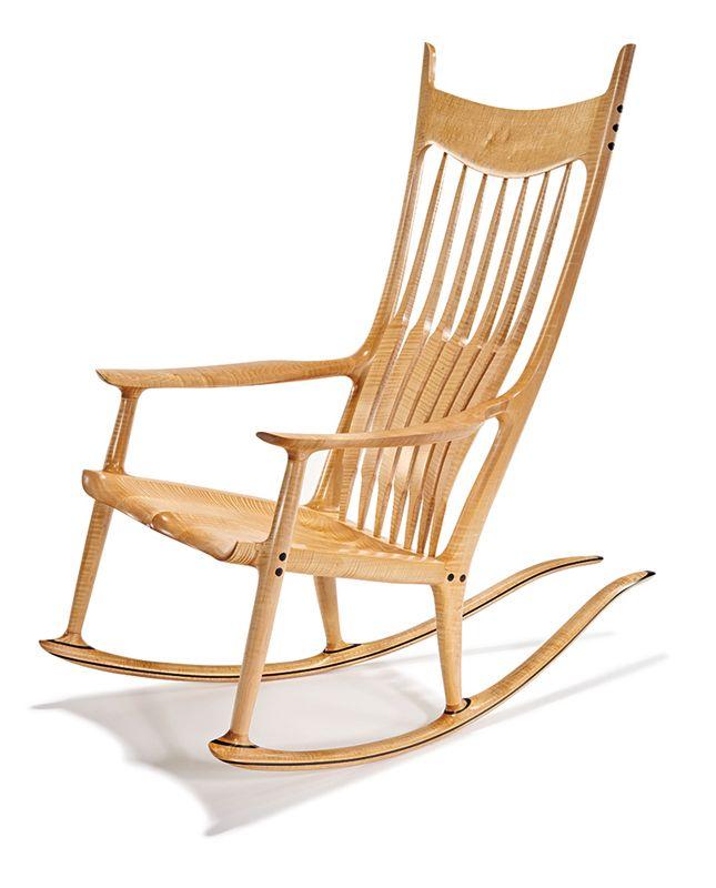 Lot 029 Rocking Chair Sam Maloof May 17 2015