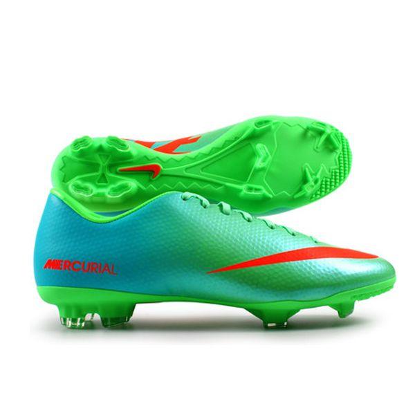 Sepatu Bola Nike Mercurial Victory IV FG 555613-380 adalah Sepatu Nike Original yang banyak dicari karena ringan dan sangat mendukung terhadap kelincahan. Sepatu dengan diskon 15% dari Rp 899.000 menjadi Rp 759.000.