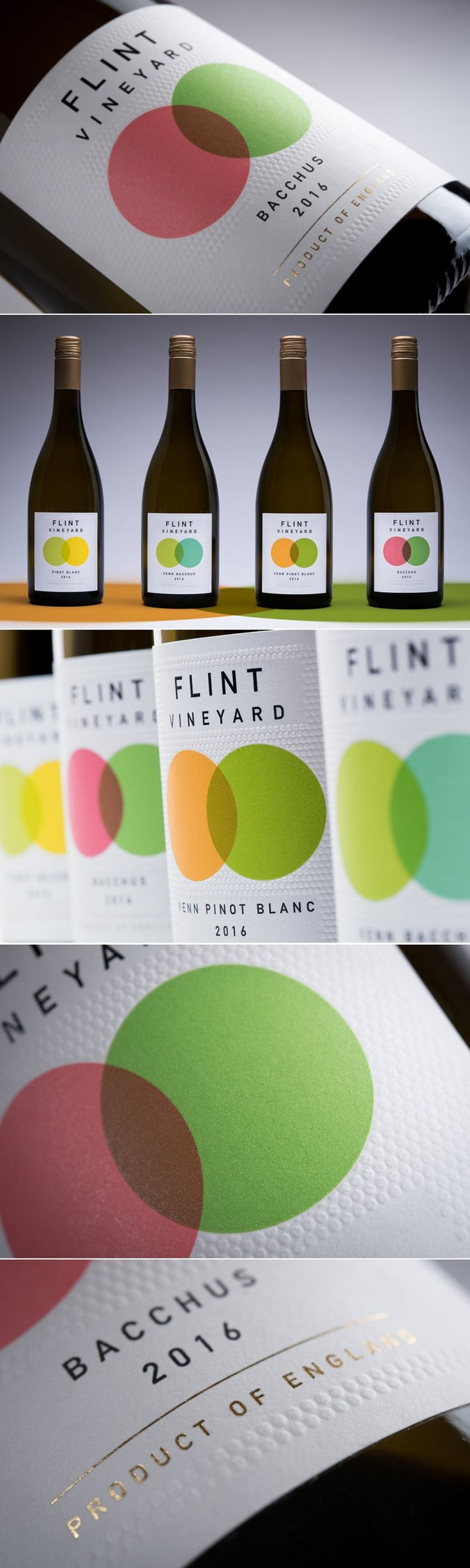 These Venn Diagram Inspired Wine Labels Represent Two Parts to a Tasty Whole — The Dieline | Packaging & Branding Design & Innovation News