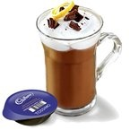 Zesty Hot Chocolate - Warm up to this delicious HOT CHOCOLATE recipe on this cold winter day! #TASSIMO