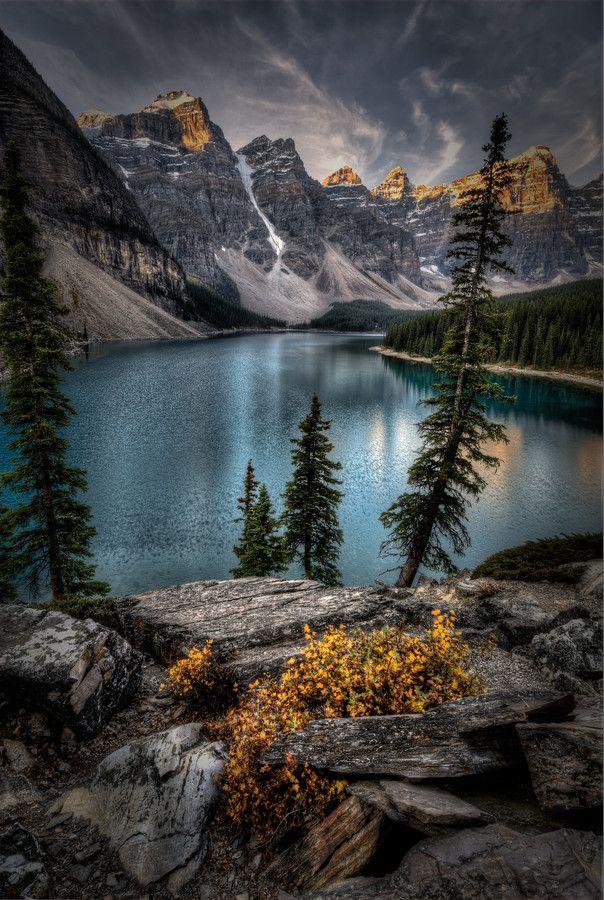#Banff National Park #Moraine Lake #Rocky Mountains, Canada
