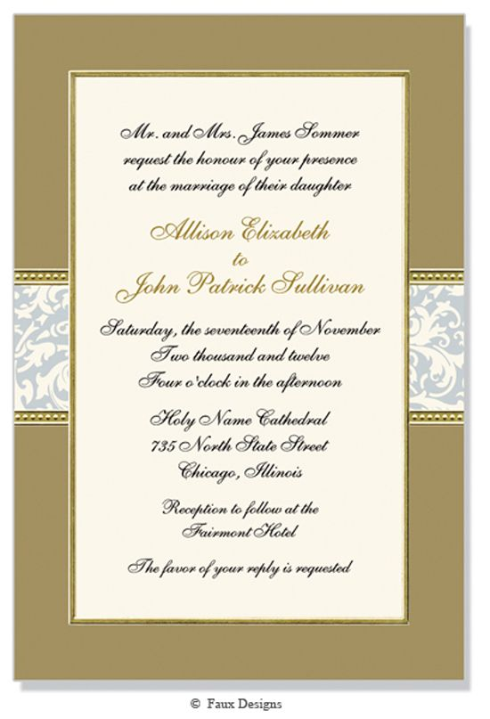 Best Formal Event Invitations Images On   Event