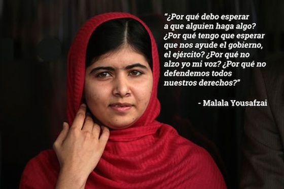 Las mejores frases de nuestro Premio Nobel de la Paz favorito, Malala Yousafzai | Verne EL PAÍS