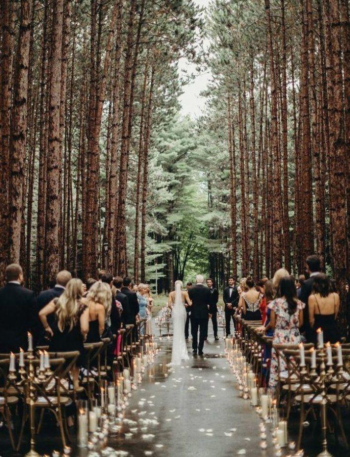 A Fairytale Forest Wedding Weddingideas Destinationweddingplanning In 2020 Forest Wedding Venue Forest Wedding Forest Theme Wedding