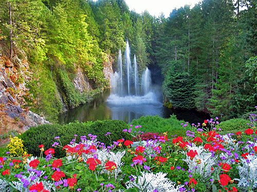 Butchart Gardens- Victoria, Canada (a photographers dream!) been here(:
