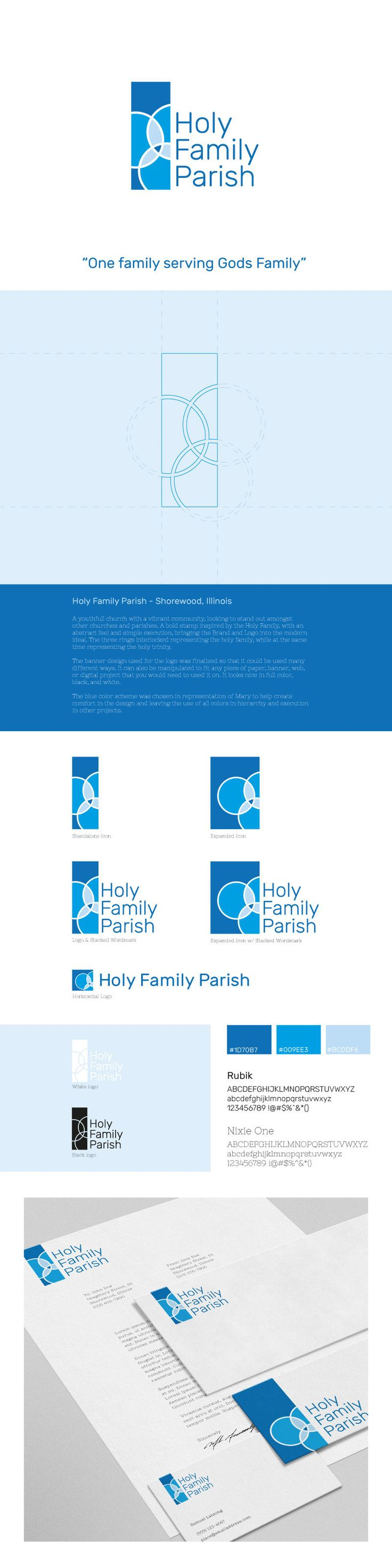 "Check out this @Behance project: ""Holy Family Logo"" https://www.behance.net/gallery/42839995/Holy-Family-Logo"