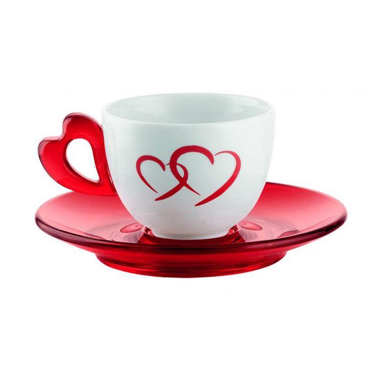 LOVE COFFEE SET / DESIGN SHINOBU E SETSU ITO / BY GUZZINI /