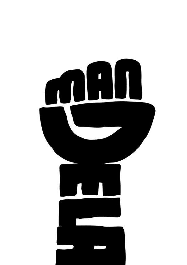 Joel Guenoun - Mandela #Typography #Mandela