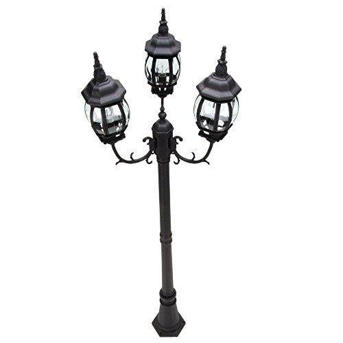 Best Hampton Bay Outdoor Post Lantern Outdoor Post Lights 400 x 300