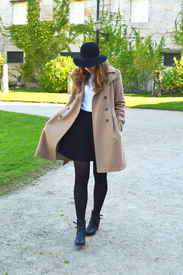 The simplest idea to wear a black skirt for a perfect fall outfit! | L'idea più…