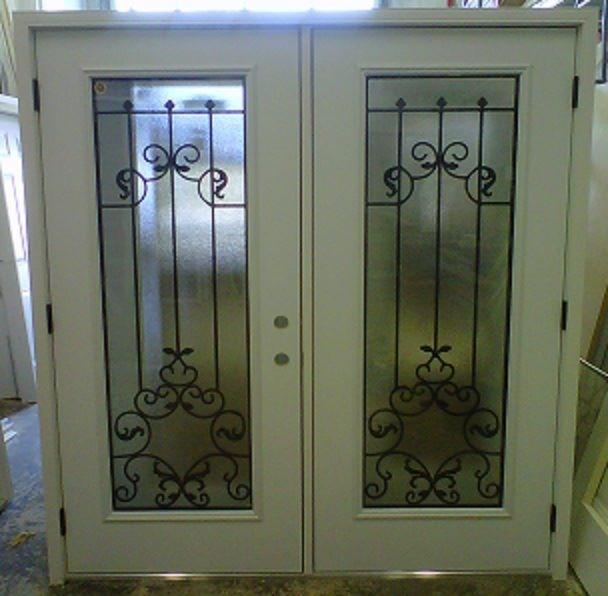 """36"""" LHO Garden Door w/ 2264 Chateau Door Lites"""