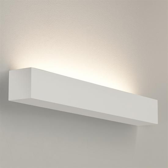 Parma 250 Plaster Wall Uplight Switching 240V 3W White