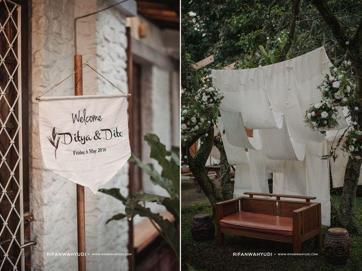 Home Wedding Decor - Ditya x Dito