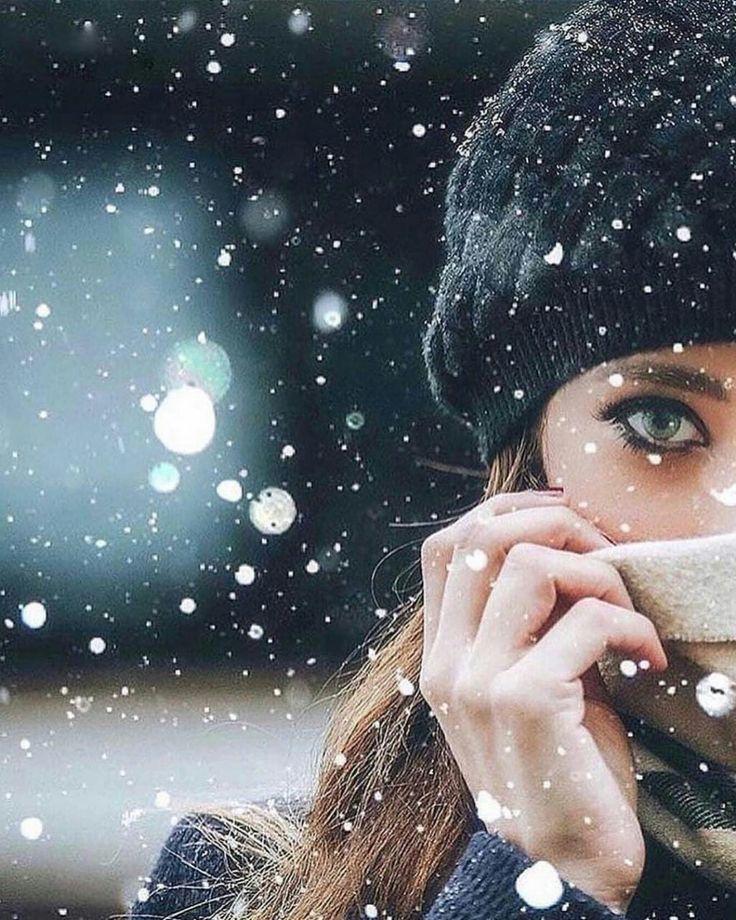 Как фотографировать когда идет снег