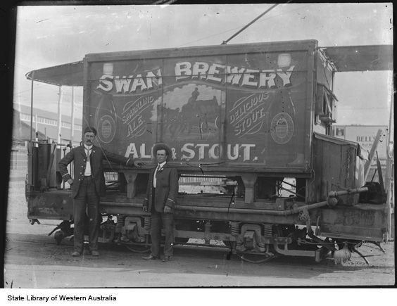 Swan Brewery Ale & Stout Tram Track Cleaner, Perth