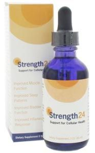 Strength24 – 60ml (2oz) Invigorates the production of Ca2+ATPase, an enzyme found in every cell in the body to restore and maintain cellular and systemic health. Strength24 – 60ml (2oz)