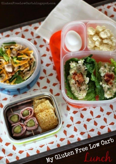 My Low Carb Lunch Gluten Free Atkins Induction Phase 1 Friendly Lunch And Snack Ideas
