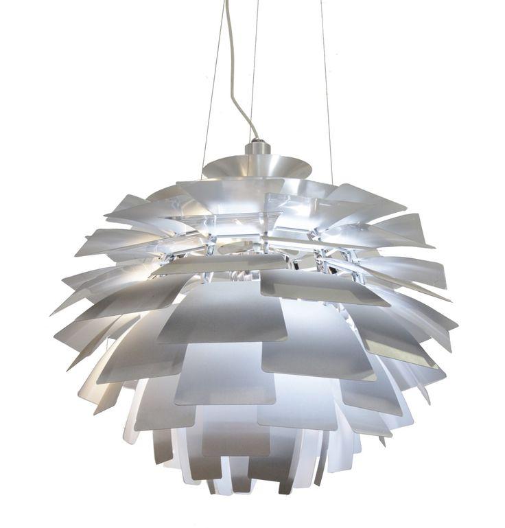 Replica Poul Henningsen Artichoke Light (Size B) by Poul Henningsen - Matt Blatt