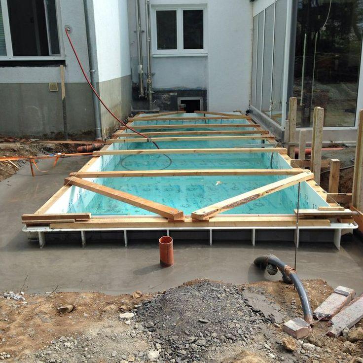 85 best eine neue pool anlage entsteht images on. Black Bedroom Furniture Sets. Home Design Ideas