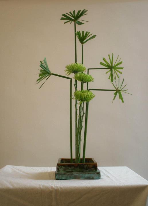 Ikebana Sogetsu (realizzato da Luca Ramacciotti)                                                                                                                                                      More