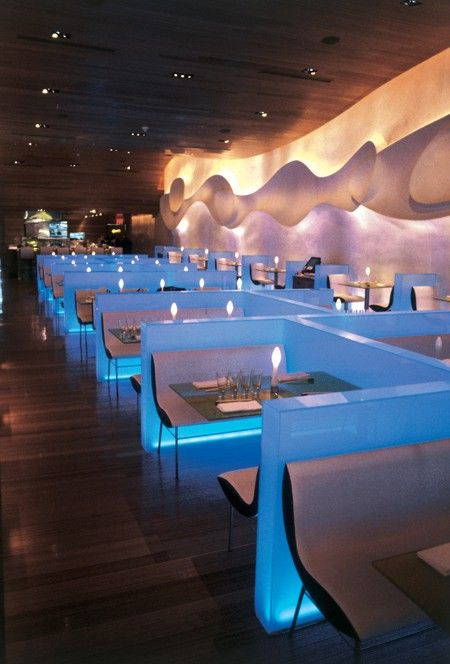 MORIMOTO • Japanese-Sushi • Philadelphia, PENNSYLVANIA • This restaurant has attracted international attention for its modern design that is both stunning and serene, and its exquisitely prepared cuisine • 215-413-9070 • www.morimotorestaurant.com