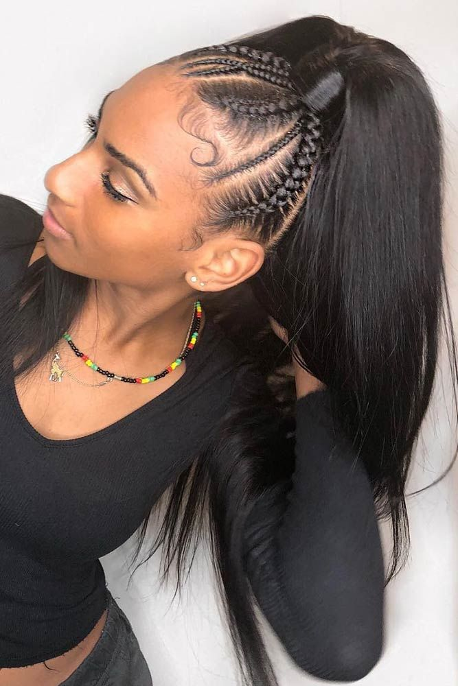 50 Cute Cornrow Braids Ideas To Tame Your Naughty Hair Braided