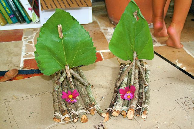 Twig boats - from Moment to Moment blog