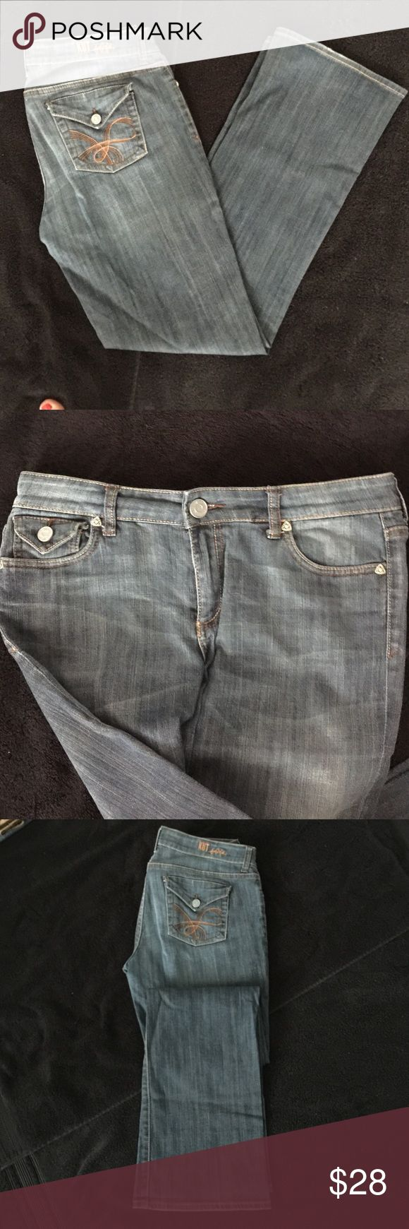 Kut Jeans Size 6 Kut Jeans size 6 boot cut great condition. Kut from the Kloth Jeans Boot Cut