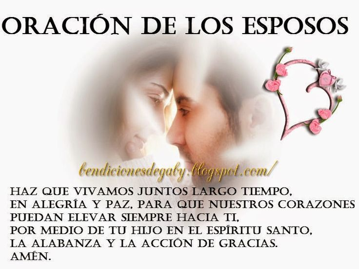 Oracion De Matrimonio Catolico : Images about oraciones catolicas on pinterest te