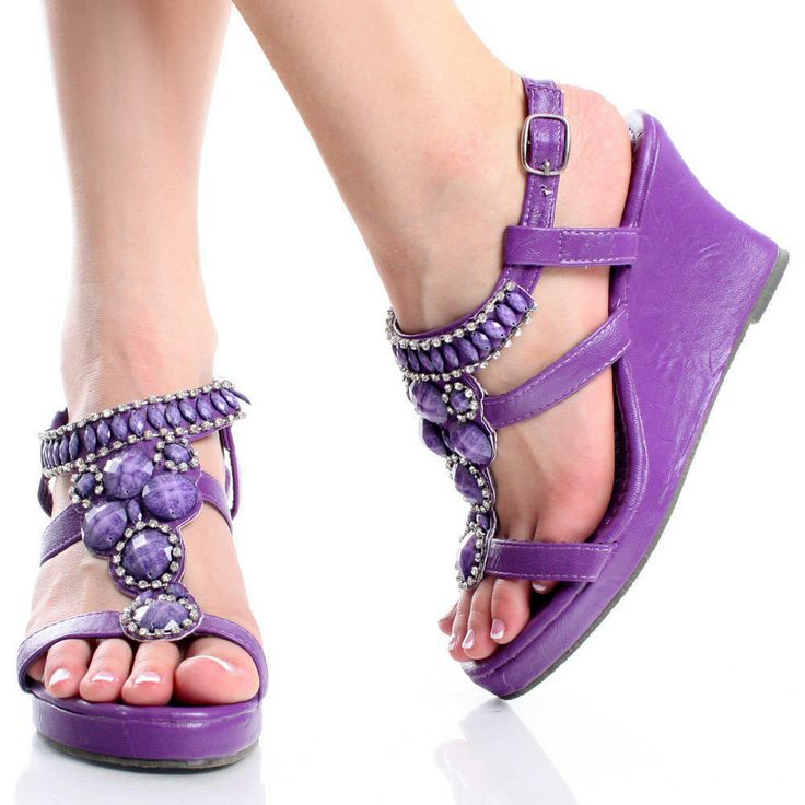Purple Shoes Womens Comfort