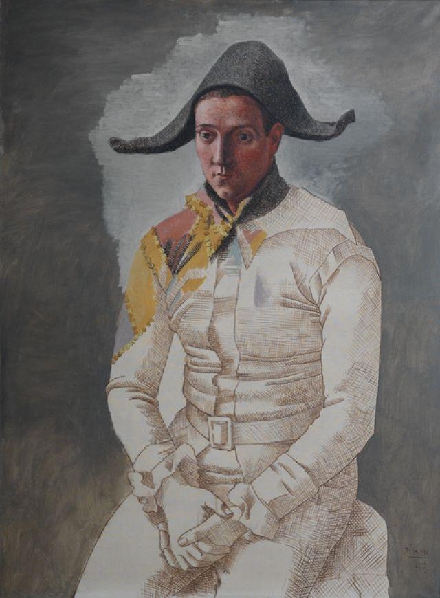 Pablo Picasso- Arlequin,1923