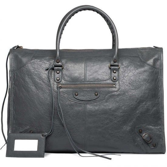 low-priced Balenciaga Weekender Gris Tarmac Handbag deal online, save up to 70% off being unfaithful limited offer, no tax and free shipping.#handbags #design #totebag #fashionbag #shoppingbag #womenbag #womensfashion #luxurydesign #luxurybag #luxurylifestyle #handbagsale #balenciaga #balenciagabag #balenciagacity