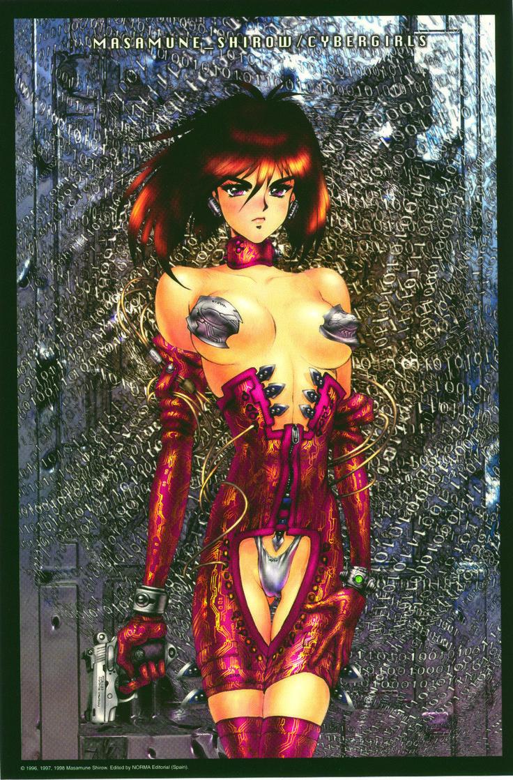 Masamune Shirow - Cybergirls