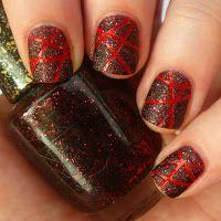 Laser Tape Manicure by Manic Manicure