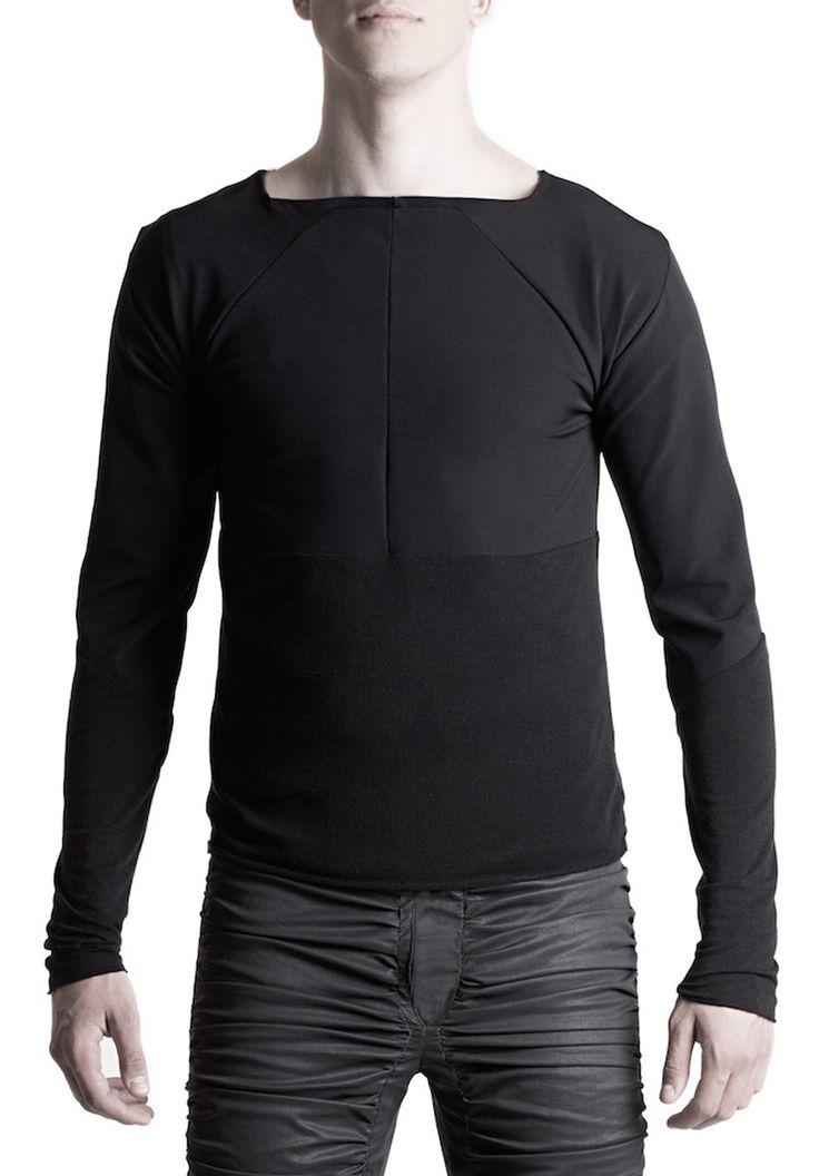 Men's long sleeve T-shirt #PANTHEIST #CORVUScolletion #menswear pantheist.co