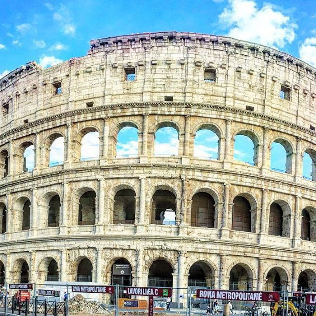 Majestic Colosseum!  #italy #colosseum #rome #thetravelspeak #europe #travel #bbctravel