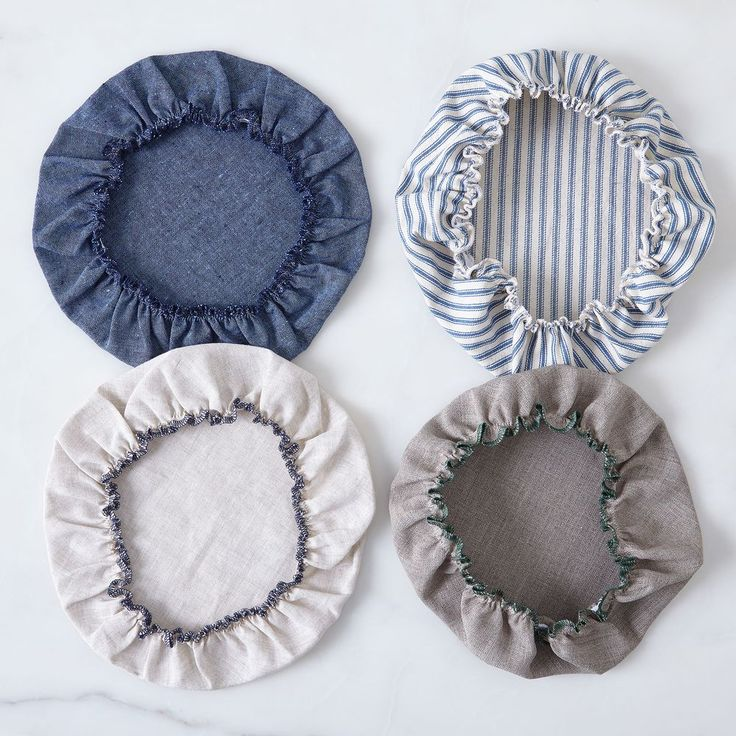 Linen & Cotton Bowl Covers (Set of 6) on Food52