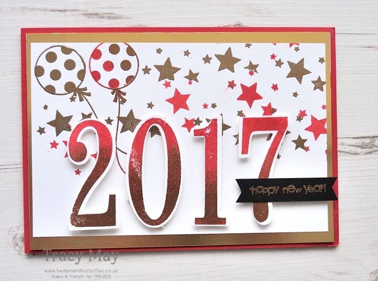 Number of Years by Stampin' Up! Tracy May Dream Theme