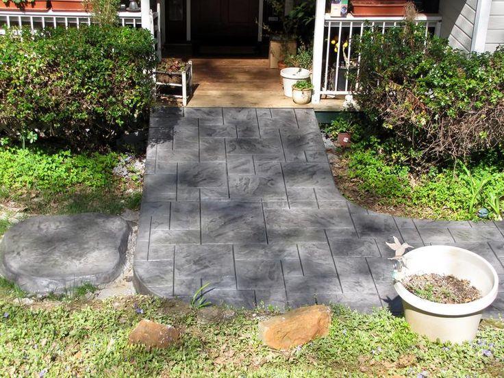 Stamped Concrete Brickform Colors Medium Ashlar Base