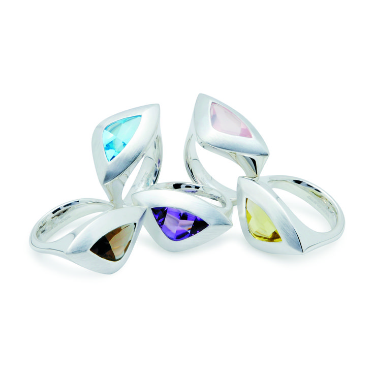 Sterling silver rings - South Atlantic collection