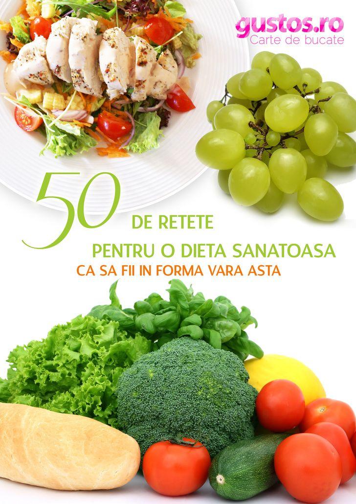 50 de reţete pentru o dietă sănătoasă