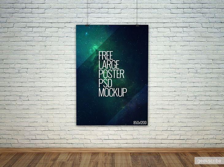 Макет большого плаката / Billboard, storefronts / Yagiro - сайт о дизайне и для дизайнеров