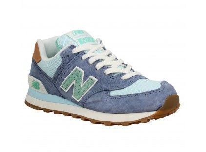 new balance femme 574 bleu