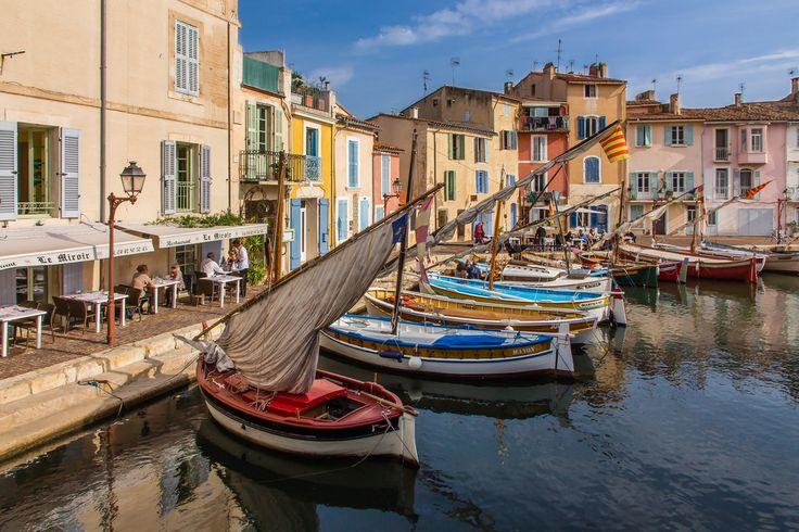 Les pointus de Martigues, France