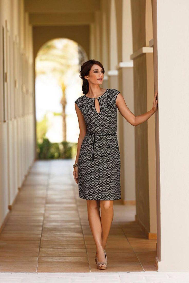 Ladies dress Sunflair 2014. Now @The Lingerie Shop.