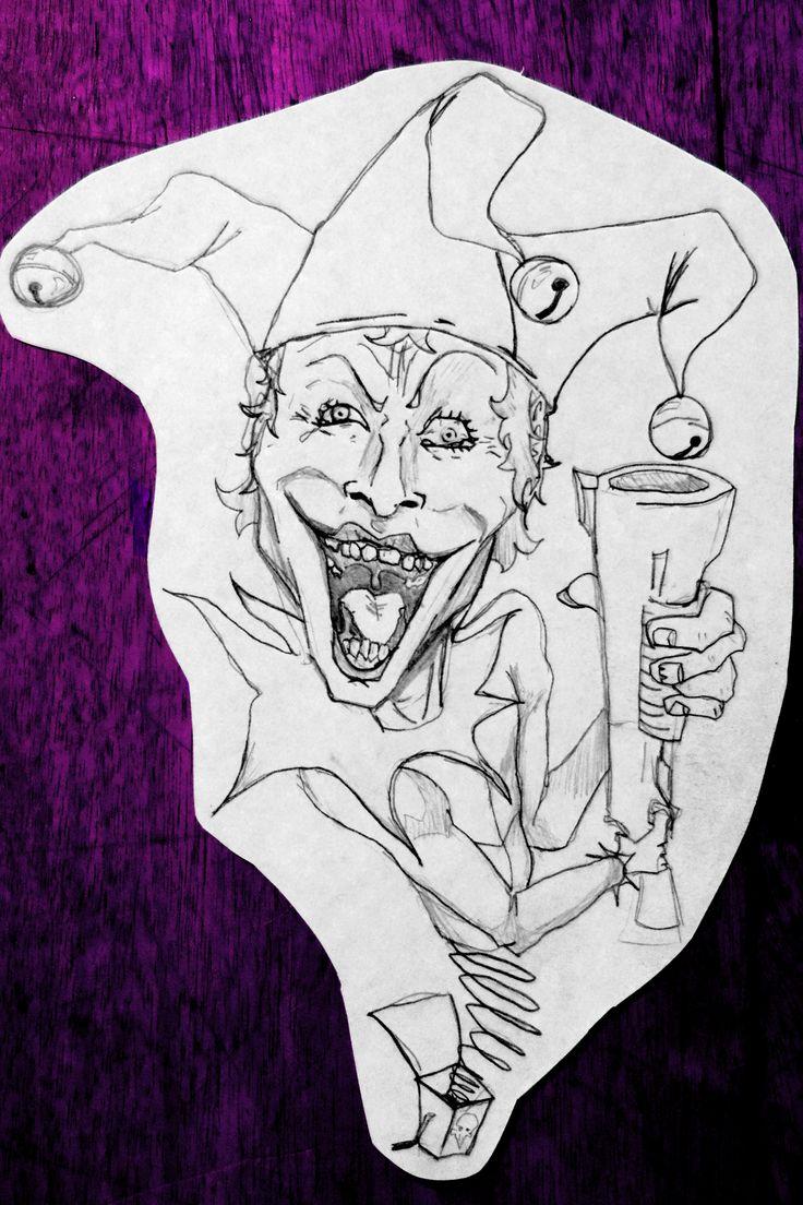 JOKERBOX - 2010 - JhetroMan.-   Portaminas  #comics #joker #batman #dibujo #ilustracion