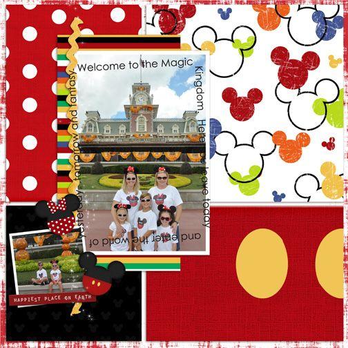 Disney World page idea