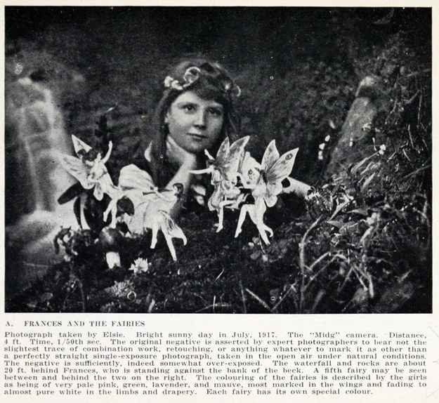 Or is it all a hoax, like the Cottingley Fairies?