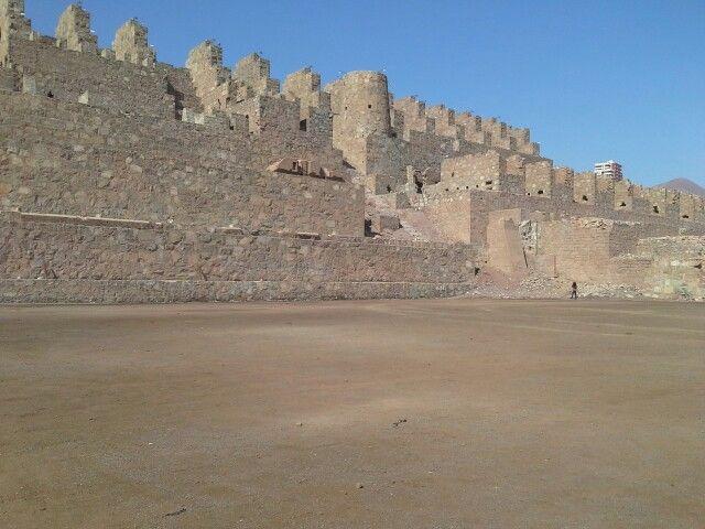 Ruinas de Huanchaca, Región de Antofagasta,  Chile.